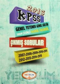 2016 KPSS Genel Yetenek Genel Kültür Tamamı Çözümlü Fasikül Fasikül Çıkmış Sorular