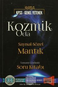 2016 KPSS Genel Yetenek Kozmik Oda Sayısal-Sözel Mantık Tamamı Çözümlü Soru Kitabı