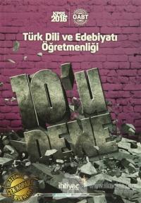 2016 KPSS ÖABT Türk Dili ve Edebiyatı Öğretmenliği 10'lu Deneme