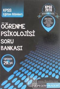 2016 KPSS Öğrenme Psikolojisi Soru Bankası