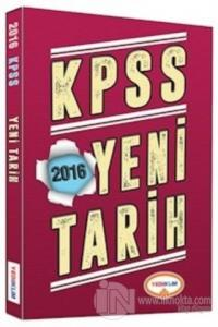 2016 KPSS Yeni Tarih