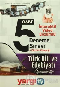 2016 ÖABT Türk Dili ve Edebiyat Öğretmenliği İnteraktif Video Çözümlü 5 Deneme Sınavı