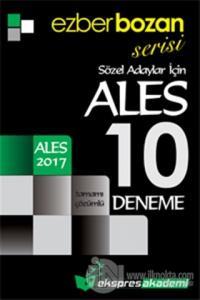 2017 Ezberbozan ALES Sözel Adaylar İçin Tamamı Çözümlü 10 Deneme
