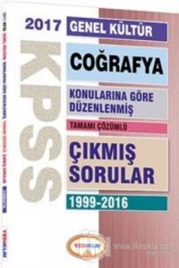 2017 KPSS Genel Kültür Coğrafya Konularına Göre Düzenlenmiş Tamamı Çözümlü 1999-2016 Çıkmış Sorular
