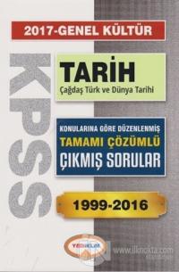 2017 KPSS Genel Kültür Tarih Çağdaş Türk ve Dünya Tarihi Tamamı Çözümlü 1999-2016 Çıkmış Sorular
