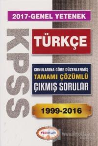 2017 KPSS Genel Kültür Türkçe Tamamı Çözümlü 1999-2016 Çıkmış Sorular