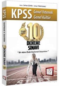 2017 KPSS Genel Yetenek Genel Kültür Tamamı Çözümlü 10 Deneme