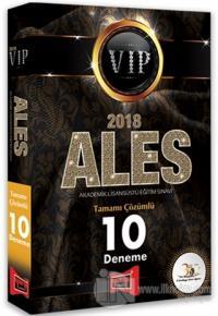 2018 ALES VIP Tamamı Çözümlü 10 Deneme