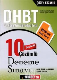 2018 DHBT Önlisans Çözümlü 10 Deneme Sınavı