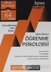 2018 KPSS Eğitim Bilimleri Öğrenme Psikolojisi Kolektif