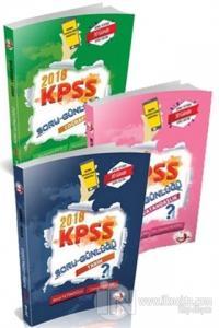 2018 KPSS Genel Kültür Soru Günlüğü Seti (3 Kitap Takım)