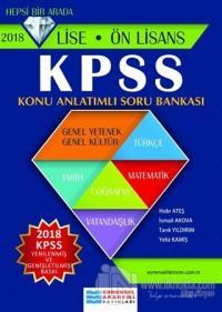 2018 KPSS Lise - Ön Lisans Konu Anlatımlı Soru Bankası