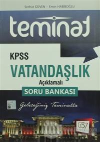2018 KPSS Teminat Vatandaşlık Açıklamalı Soru Bankası