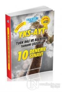 2018 YKS AYT Türk Dili ve Edebiyatı Tamamı Çözümlü 10 Deneme Sınavı