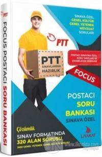 2019/1 PTT Postacı Sınavlarına Özel Hazırlık Focus Soru Bankası
