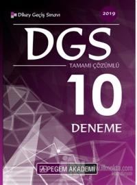 2019 DGS Tamamı Çözümlü 10 Deneme