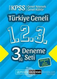 2019 KPSS Genel Yetenek Genel Kültür Türkiye Geneli Deneme (1.2.3) 3'l