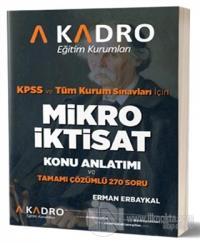 2019 KPSS Mikro İktisat Konu Anlatımı ve Tamamı Çözümlü 270 Soru