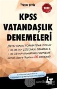 2019 KPSS Vatandaşlık Denemeleri