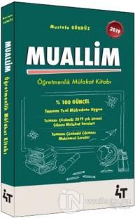 2019 Muallim Öğretmenlik Mülakat Kitabı %5 indirimli Mustafa Gündüz