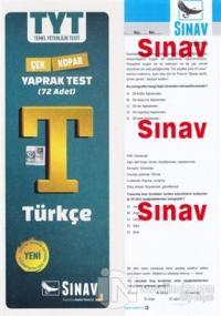 2019 TYT Türkçe Yaprak Test