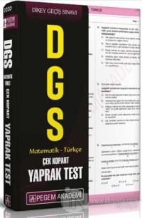 2020 DGS Matematik - Türkçe Çek Kopar Yaprak Test
