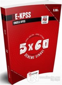 2020 E-KPSS Tamamı PDF Çözümlü Genel Kültür - Genel Yetenek 5x60 Deneme Sınavı