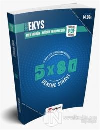 2020 EKYS MEB Okul Müdür ve Müdür Yardımcılığı 5x80 Tamamı PDF Çözümlü