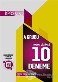 2020 KPSS A Grubu Tamamı Çözümlü 10 Deneme Kolektif