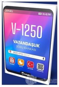 2020 KPSS Genel Kültür V-1250 Vatandaşlık Soru Bankası