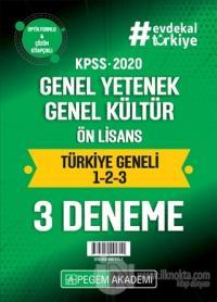 2020 KPSS Genel Yetenek Genel Kültür Ön Lisans Türkiye Geneli (1.2.3)