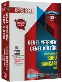 2020 KPSS Genel Yetenek Genel Kültür Tamamı Çözümlü Soru Bankası Seti (5 Kitap Takım)