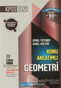 2020 KPSS Genel Yetenek Genel Kültür Video Destekli Konu Anlatımlı - Geometri
