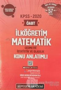 2020 KPSS İlköğretim Matematik Geometri İstatistik ve Olasılık Konu An