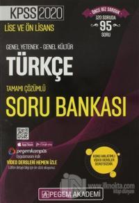 2020 KPSS Lise ve Ön Lisans Genel Yetenek-Genel Kültür Türkçe Tamamı Ç