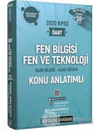 2020 KPSS ÖABT Fen Bilgisi Fen ve Teknoloji Alan Bilgisi Alan Eğitimi Video Destekli Konu Anlatımlı Modüler Set