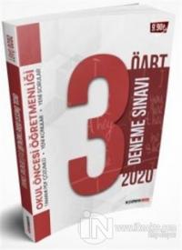 2020 ÖABT Okul Öncesi Öğretmenliği PDF Çözümlü 3 lü Deneme Seti