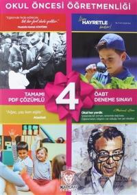 2020 ÖABT Okul Öncesi Öğretmenliği Tamamı PDF Çözümlü 4 Deneme Sınavı