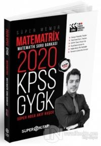 2020 Süper Memur KPSS - GYGK Matematrix Matematik Soru Bankası