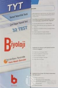 2020 TYT Biyoloji Çek - Kopar Yaprak Test