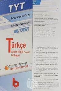 2020 TYT Türkçe Çek - Kopar Yaprak Test