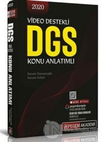2020 Video Destekli DGS Konu Anlatımlı