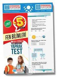 2021 5. Sınıf Fen Bilimleri Video Çözümlü Yaprak Test