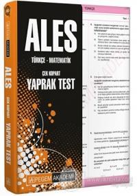 2021 ALES Çek Kopart Yaprak Test Kolektif