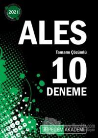 2021 ALES Tamamı Çözümlü 10 Deneme