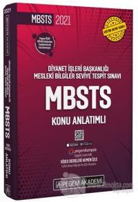 2021 Diyanet İşleri Başkanlığı Mesleki Bilgiler Seviye Tespit Sınavı MBSTS Konu Anlatımlı
