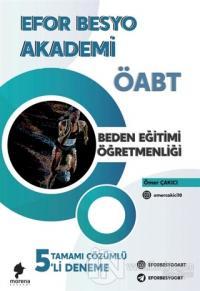 2021 Efor Besyo Akademi ÖABT Beden Eğitimi Öğretmenliği Tamamı Çözümlü 5'li Deneme