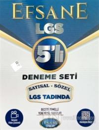 2021 Efsane 8.Sınıf LGS 5'li Deneme Seti Sayısal-Sözel LGS Tadında