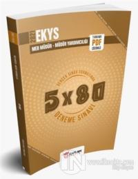2021 EKYS MEB Müdür - Müdür Yardımcılığı 5x80 Tamamı PDF Çözümlü Deneme Sınavı