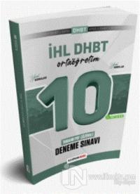 2021 İHL DHBT Ortaöğretim Düzeyi Tamamı PDF Çözümlü 10 Deneme Sınavı